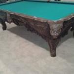Woodwork Billiard Table 2
