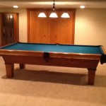 Green Felt Billiard Table 4