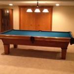 Green Felt Billiard Table 4