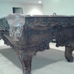 Woodwork Billiard Table