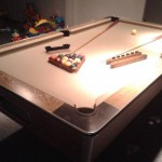 Beige Felt Billiard Table 2