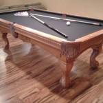 Slate Felt Billiard Table