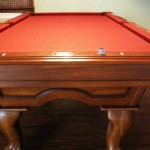 Red Felt Billiard Table 2