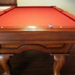 Red Felt Billiard Table 2